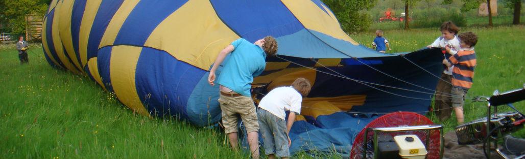Kasteel Sterkenburg: ballonvaart