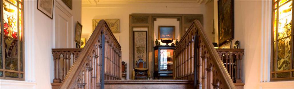 Kasteel Sterkenburg: trappenhuis