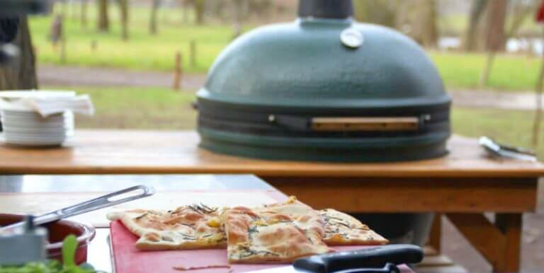 koken op een big green egg, kookworkshop