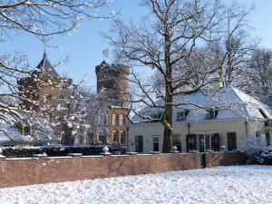 kasteel koetshuis winter