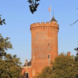 Middeleeuwse ronde toren
