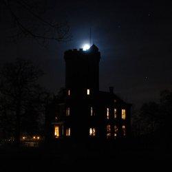 Sterkenburg bij nacht